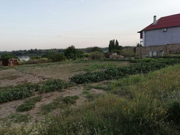 Шикарный участок на берегу Днепра для постройки дома