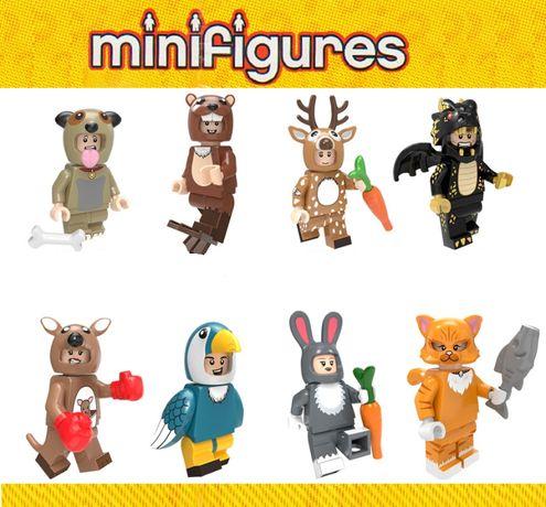 Bonecos minifiguras Coleção Fantasias / Mascotes nº3 (compativel lego)