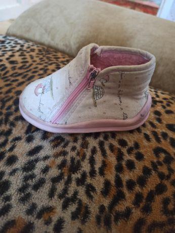 тапочки для девочки, демисезонная обувь