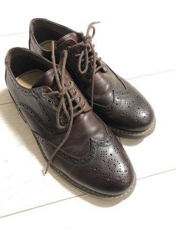 Броги , туфли - кожа 41 размер
