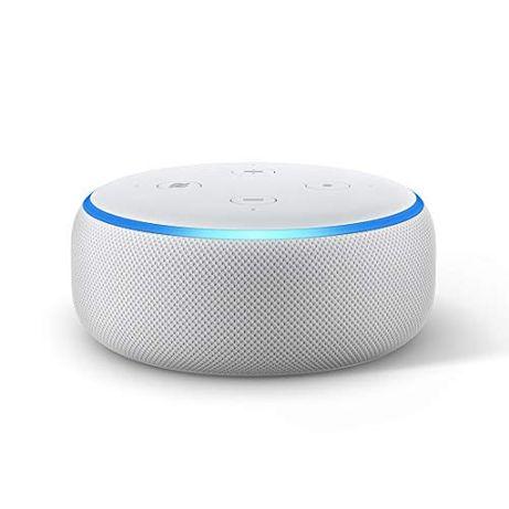 NOVO Amazon Alexa Echo Dot (3ª Geração), Embalado e Selado, Ultimas 2