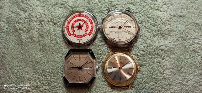 Продам часы Ракета 3шт и Луч Ау12,5+ цена за все