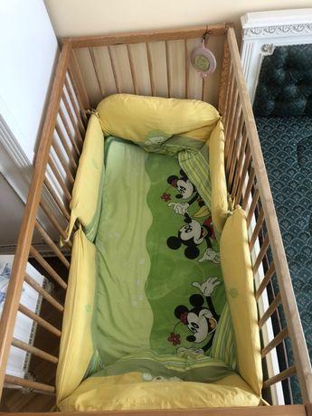 комплект для дитячого ліжечка