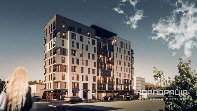Продаж чудової 1-км квартири на 3 пов., новобудова, центр міста