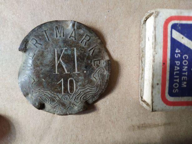Moneta kolekcjonerska wertmarke 10