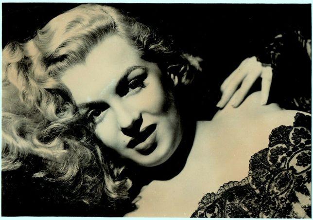 Stara fotografia Marilyn Monroe