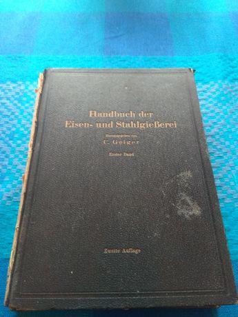 Podręcznik odlewni żelaza i stali Handbuch der Eisen-und Stahlgießerei