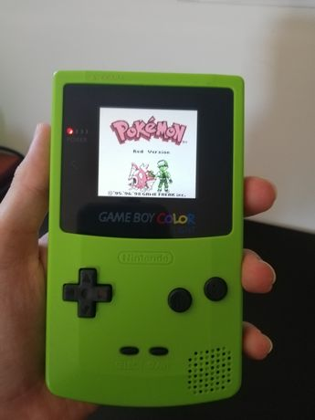Nintendo Gameboy colour / Game boy color c/ ecrã ips / lcd / led