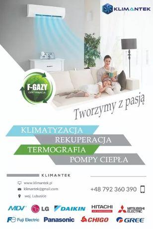 Klimatyzacja - Pompa Ciepła - Rekuperacja - montaż - Wycena GRATIS