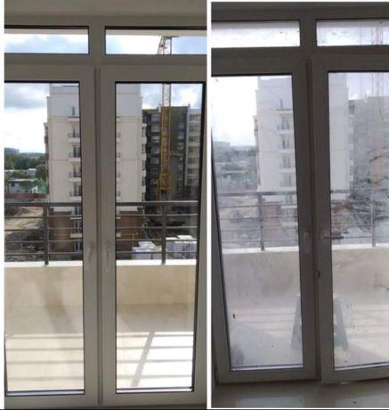 Миття вікон, прибирання квартир