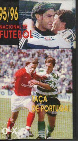 Cassete vhs futebol 95-96 taça de portugal