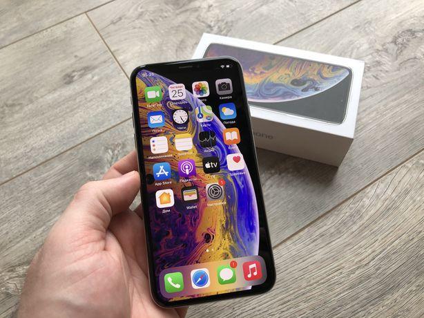 iPhone Xs 64gb Silver Rsim #i055