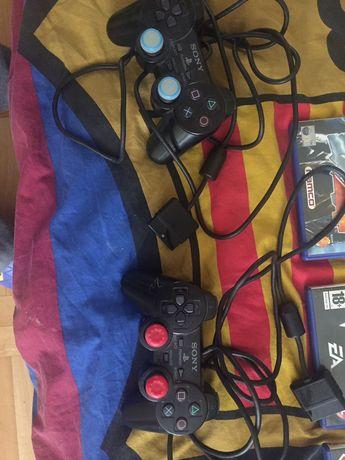 Konsola PlayStation 2 + 10 gier