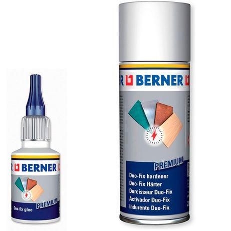 Супер клей Berner + отвердитель Duo fix
