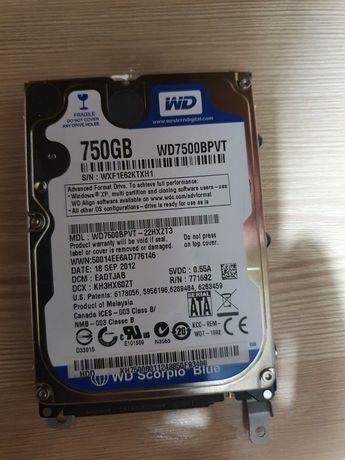 Жесткий диск WD 750Gb (2.5