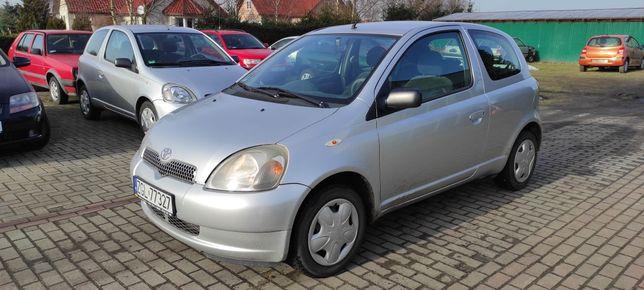 Toyota Yaris 1.0 benz 138 tys km 2002r Zarejestrowany