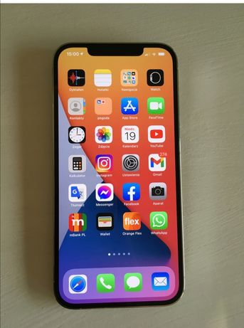 Apple iPhone 12 Pro Max 256 GB srebrny CENA DO NEGOCJACJI