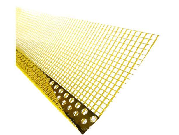 Narożnik alumini. z siatką 8/12cm 2,5m Narożniki Listwy Winkle Profile