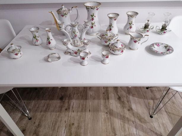 Porcelana zestaw zastawa stan dobry