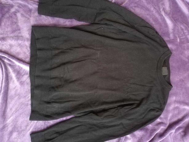 Sweter czarny męski