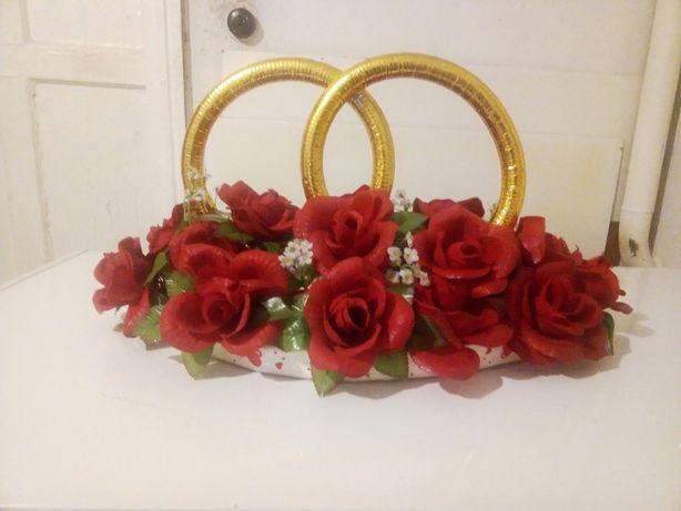 Продам свадебные кольца на автомобиль