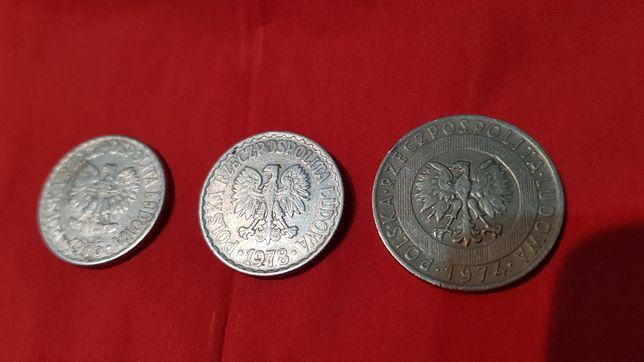 Moneta monety bez znaku mennicy Prl 1zł 20zł