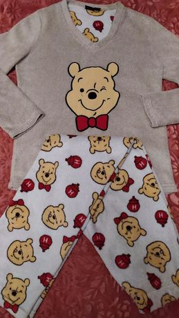 Махровый костюм для дома ,пижама теплая Winnie the Pooh Disney ориг.