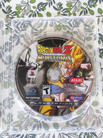 Jogo Dragon Ball Z: Burst Limit PS3