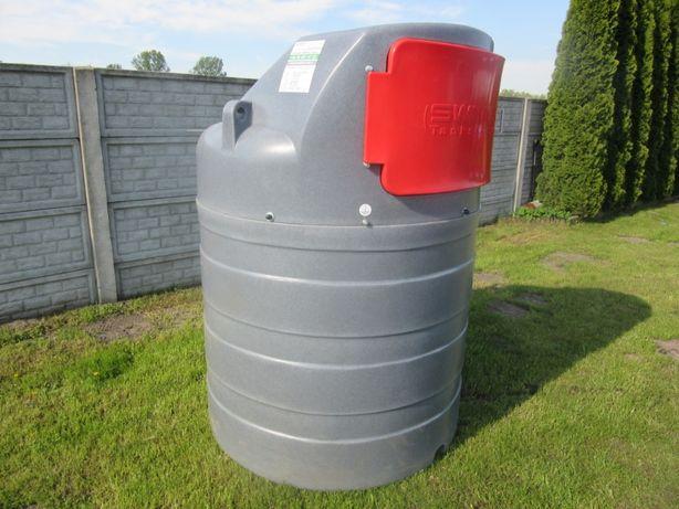 WYPRZEDAŻ Zbiornik dwupłaszczowy na olej napędowy ON paliwo diesel