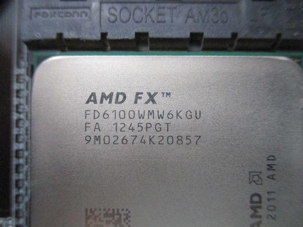 Процессор AMD FX-6100 (Socket AM3+) 6 ядер / 8 Mb L3 Cache 3,3-3,9 GHz