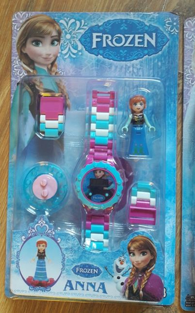 Zegarek na rekę Frozen Anna Kraina lodu Nowy!