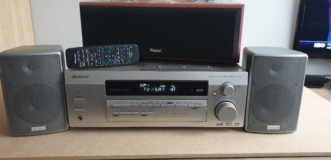 ZESTAW - Wzmacniacz Pioneer + 3 Głośniki Magnat