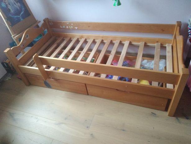 Sprzedam łóżko drewniane
