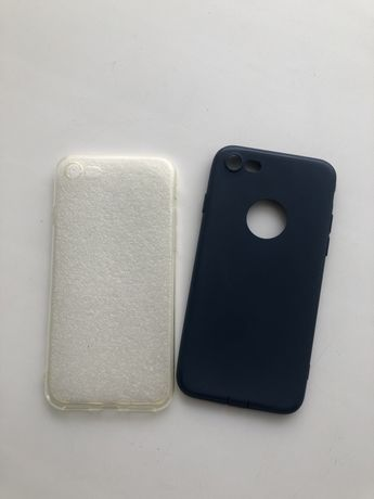 Чехлы Iphone 7/8 цена за 2 шт