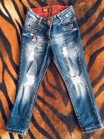 Рваные джинсы на девочку