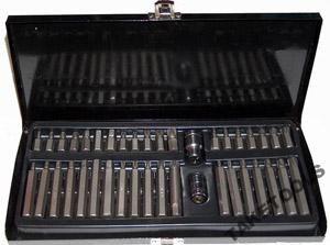 40 el zestaw bitów kluczy bity torx hex spline metalowa walizka (BIT6)