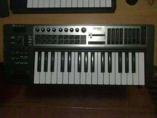 Teclado MIDI Edirol Roland pcr 300 (vendo ou troco)