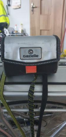 Gazelle oryginalna torba. Sakwa