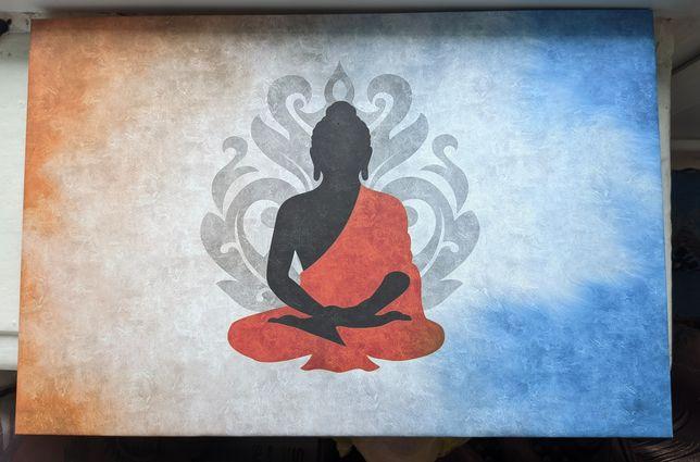 Холст с Буддой 60х40