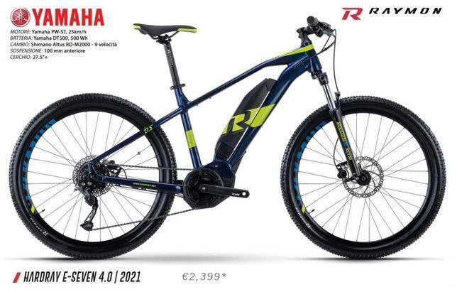 Электровелосипед Raymon HardRay E-seven 4.0_НОВЫЙ_2021
