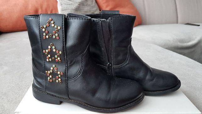 Buciki Zara Girls 28 Buty Botki 17 cm
