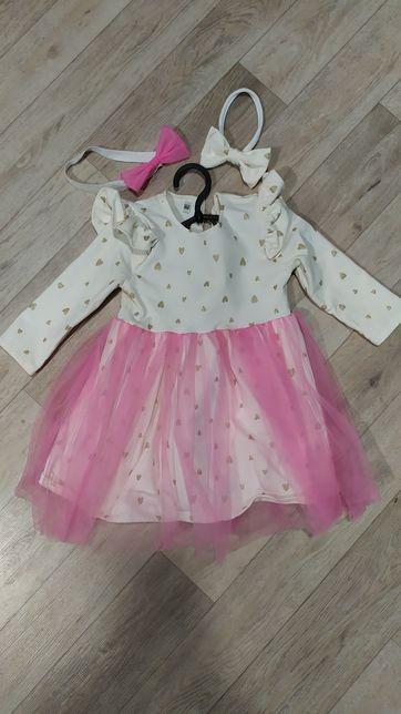 Платье на годик девочке