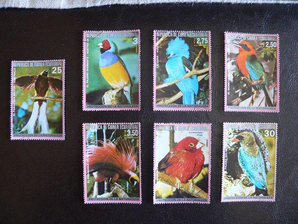 Selos de pássaros