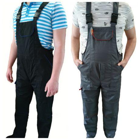 Полукомбинезон рабочий с карманами для вкладышей,спецодежда комбинезон