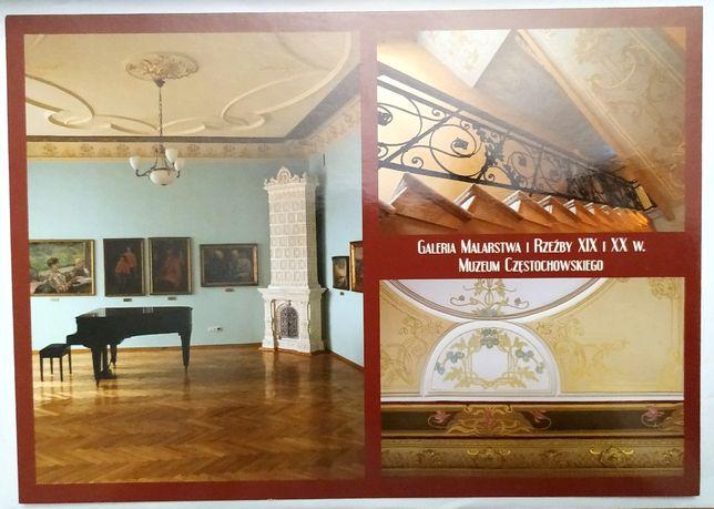 Pocztówki: Galeria Malarstwa i Rzeźby - 2 pocztówki