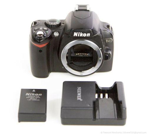 Nikon D40 lustrzanka Niski przebieg nowy Aku + Gratis