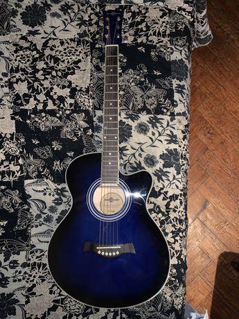 Guitarra Eletro-Acustica SC-100BL Gear4Music