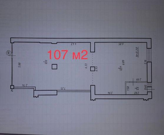 Приміщення у зданому будинку, 107 кв.м. Довженка, Ярковиця
