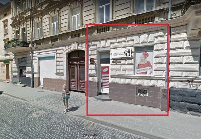 Продаж приміщення під салон, фасад, початок вул. Личаківська