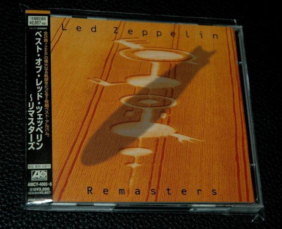 LED ZEPPELIN - Remasters. 2xCD. 1997 Atlantic. Japan. OBI.